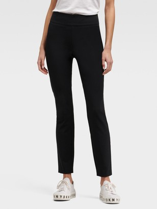 DKNY Cropped Straight-Leg Pant