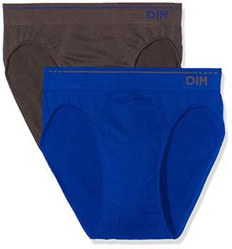 at Amazon.co.uk · UNNO Mens Algodón Sin Costuras Slip Pack X2 Dim Basic Full, (Size: 4