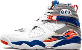 Jordan Air 8 Retro Q23 'Quinten Richardson PE' - White/Blue Ribbon