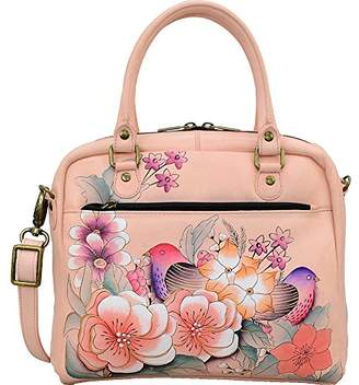 Anuschka Anna by Hand Painted Leather Women's All Round Zippered Crossbody