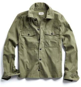 Todd Snyder CPO Overshirt Jacket in Olive