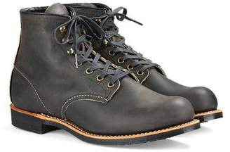 Red Wing Shoes Shoes Blacksmith Boot in Rough & Tough Leather in Charcoal
