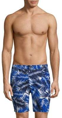 Onia Brushed Palm Calder Swim Trunks