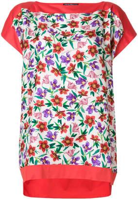 Salvatore Ferragamo small floral printed T-shirt