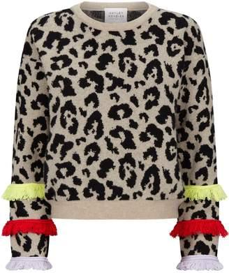 Hayley Menzies Sahara Leopard Print Sweater