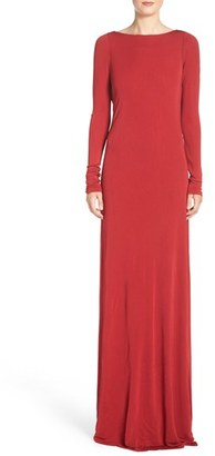 Vera Wang Jersey Gown $328 thestylecure.com