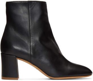 Mansur Gavriel Black Leather Boots
