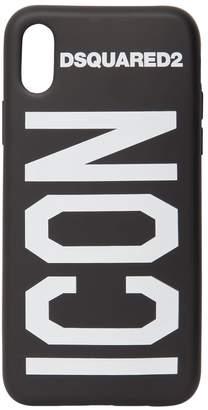 DSQUARED2 (ディースクエアード) - DSQUARED2 ICON IPHONE X ラバー携帯ケース