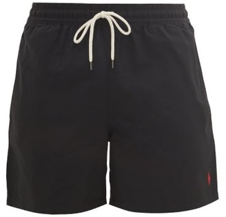 Polo Ralph Lauren Block Coloured Swim Shorts - Mens - Black
