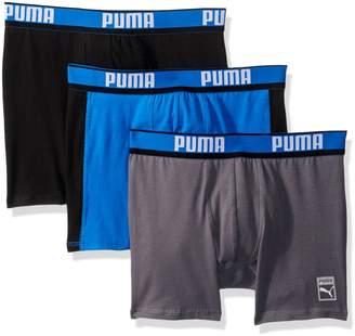 Puma Men's 3 Pack Heritage Cotton Boxer Brief