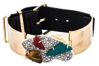 Alexis Bittar Roxbury Cluster Leather Bracelet