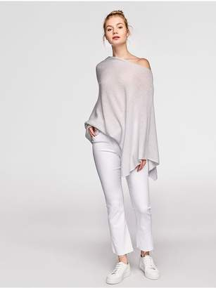 White + Warren Cashmere Two Way Angled Topper