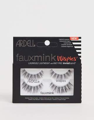 af4fcf6d7a8 Ardell Faux Mink Lashes Wispies Twin Pack
