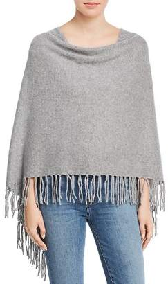 Minnie Rose Fringed Cashmere Ruana