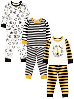 Mothercare Baby Boys 3 Pack Novelty PJ Pyjama Sets,(Size: 98)
