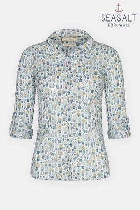 Next Womens Seasalt Repotting Salt Larissa Shirt