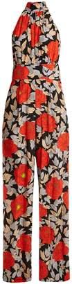 Diane von Furstenberg Boswell floral-print silk jumpsuit