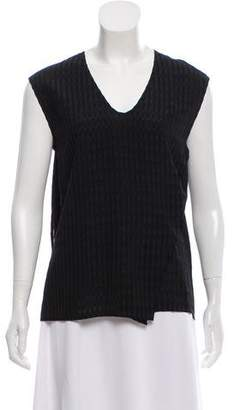 Zero Maria Cornejo Sleeveless V-Neck Top w/ Tags