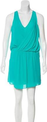 Elizabeth and James Sleeveless V-Neck Dress