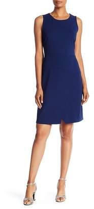 Pleione Solid Sheath Dress