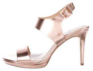 MICHAEL Michael Kors Patent Leather Strappy Sandals