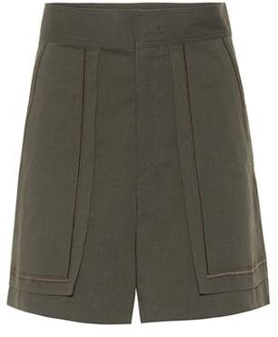 Isabel Marant Lucky cotton-blend shorts