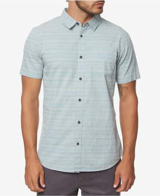 O'Neill Men Collins Modern-Fit Stretch Stripe Shirt