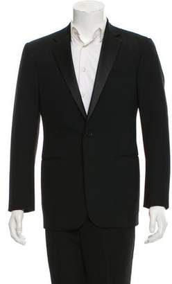 Ralph Lauren Black Label Satin-Trimmed Notch-Lapel Tuxedo Jacket