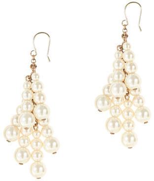 J.Crew Pearl tassel earrings