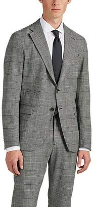 Eleventy Men's Checked Wool Two-Button Sportcoat