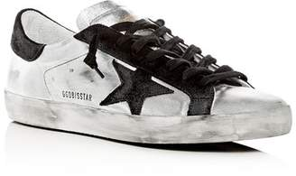 Golden Goose Men's Superstar Leather Low-Top Sneakers