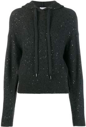 Brunello Cucinelli sequin hoodie