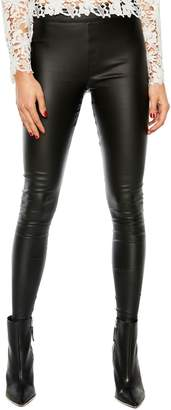 Bardot Coated Stretch Leggings