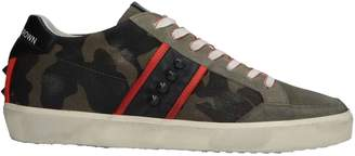 Leather Crown Low-tops & sneakers - Item 11564725GG