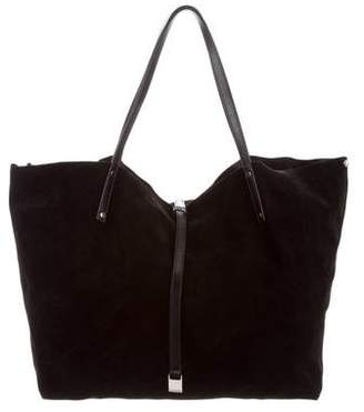Tiffany & Co. Suede & Leather Reversible Tote