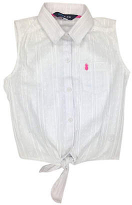 PREVIEW Girl's Sleeveless Collar Top