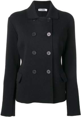 Jil Sander short double-breasted jacket