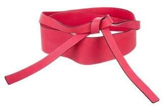 Kenzo Leather Wrap Belt