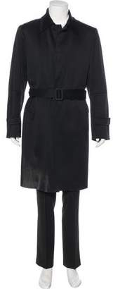 CNC Costume National Wool Trench Coat