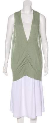 Fabiana Filippi Linen Sleeveless Top
