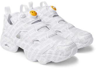 Vetements + Reebok Logo Instapump Fury Sneakers