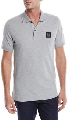 Belstaff Pique-Knit Polo Shirt