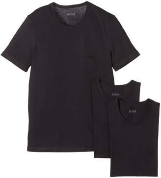 HUGO BOSS BOSS  3 Pack Crew Neck T Shirt SHIRT SS RN 3P BM 50236738 M