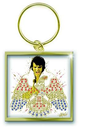 American Eagle Elvis Presley Keyring Keychain Official New