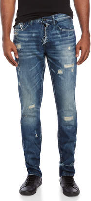 PRPS Cornstalks Slim Fit Mid-Rise Jeans