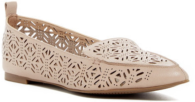 Aldo Onerin Laser-Cut Pointed Toe Flat
