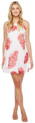Calvin Klein Floral Trapiz Dress CD7H639D Women's Dress
