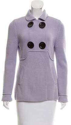 Magaschoni Wool Knit Jacket