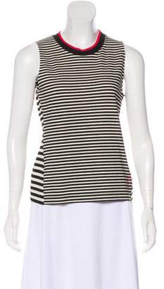 Jason Wu Grey by Patterned Sleeveless Top