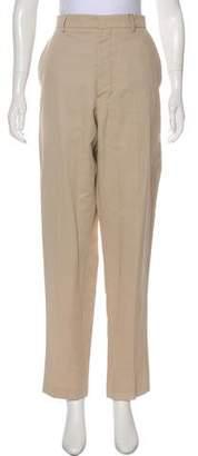 Ami Alexandre Mattiussi High-Rise Straight-Leg Pants